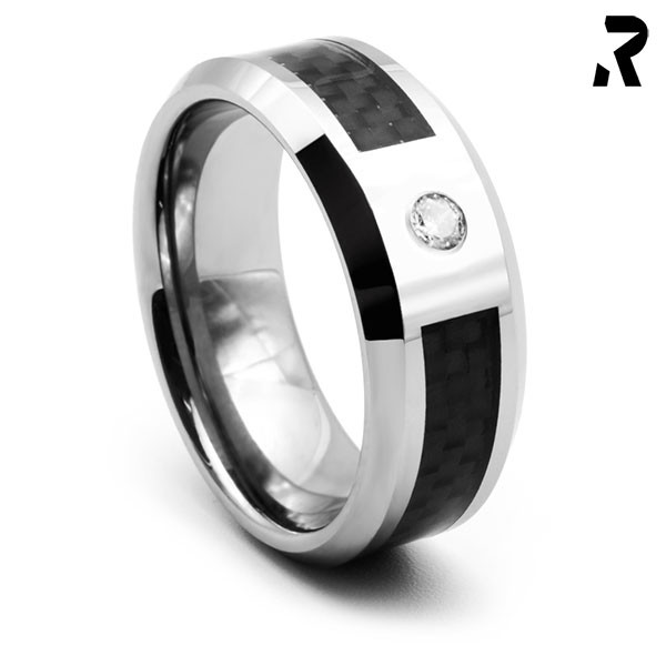 CARBON RING BLACK STAR