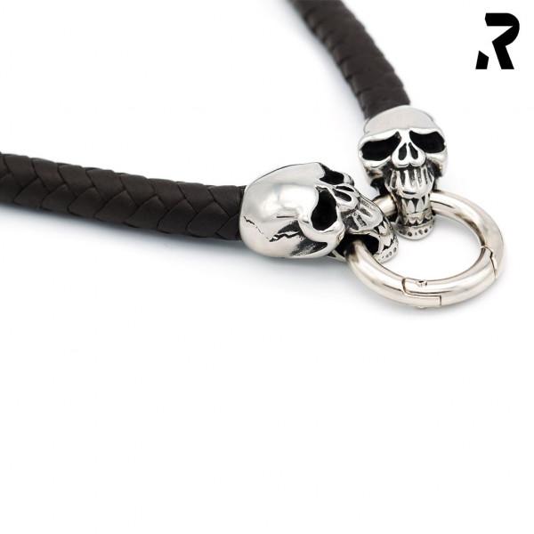 Evil Skull brown