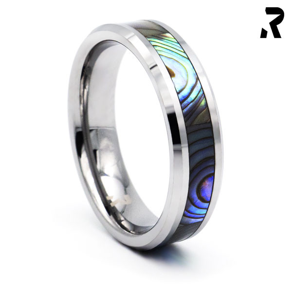 WOLFRAM ABALONE RING Magic Shell
